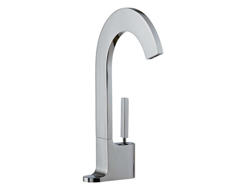 Miscelatore per lavabo monocomando monoforo CUT | Miscelatore per lavabo monoforo by Rubinetterie Treemme