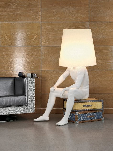 Direct light floor lamp GEORGE by Bizzotto