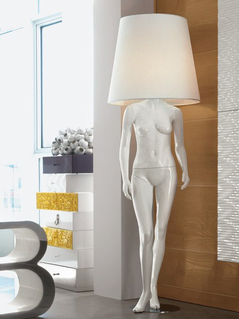 Direct light floor lamp VICTORIA by Bizzotto