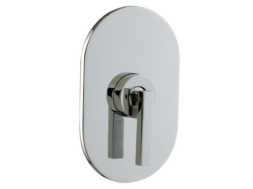 Single handle shower mixer with plate CUT | Single handle shower mixer by Rubinetterie 3M