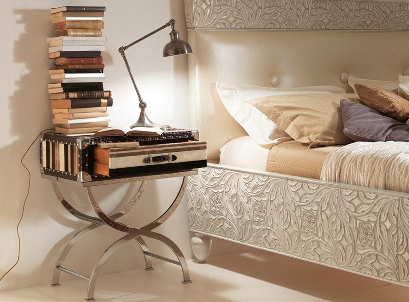 Bedside table with drawers 559   Bedside table by Bizzotto