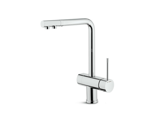 Countertop kitchen mixer tap with swivel spout water purification tap MOONY | Kitchen mixer tap by newform