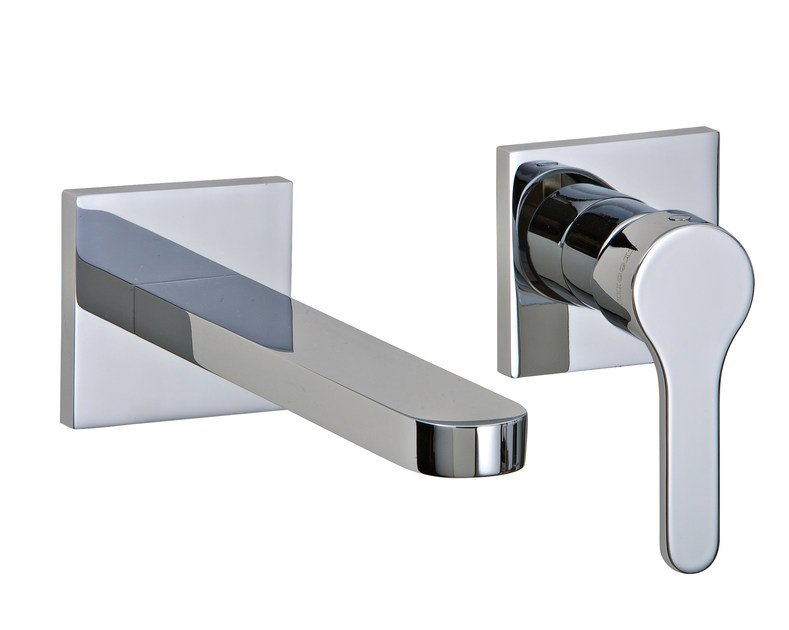 2 hole wall-mounted washbasin mixer KLAB | Wall-mounted washbasin mixer by Rubinetterie 3M