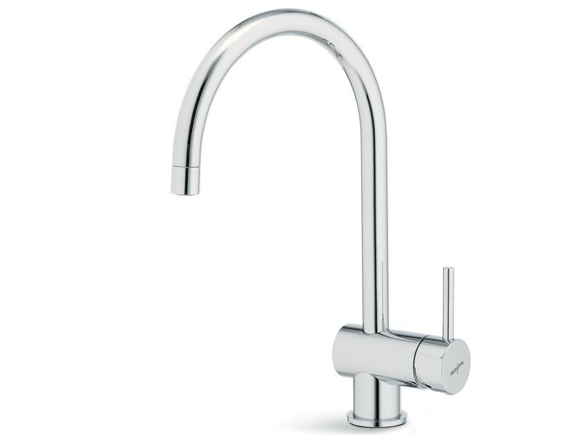 Countertop 1 hole kitchen mixer tap with swivel spout XT KITCHEN | Kitchen mixer tap with swivel spout by newform