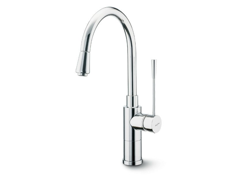 Kitchen mixer tap with swivel spout with pull out spray X-TREND KITCHEN   Kitchen mixer tap by newform