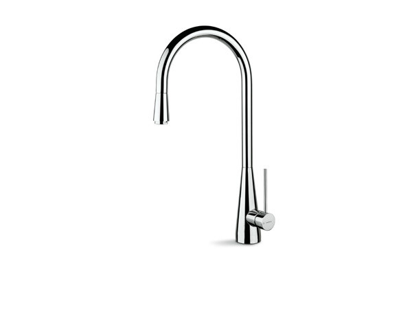 Kitchen mixer tap with swivel spout with pull out spray Y-CON | Kitchen mixer tap with swivel spout by newform