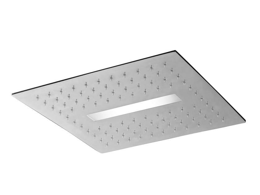Light soffione doccia da incasso by rubinetterie 3m design danilo fedeli - Soffione doccia da incasso ...