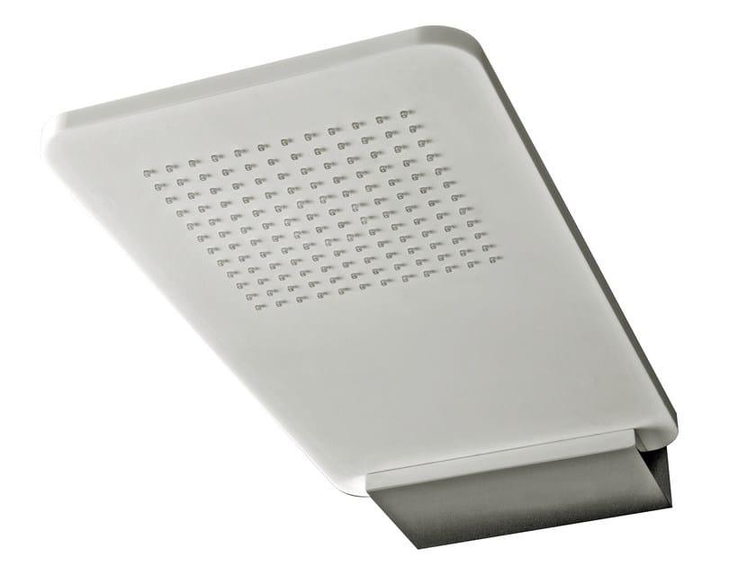 Wall-mounted extra flat overhead shower LIGHT | Wall-mounted overhead shower by Rubinetterie 3M