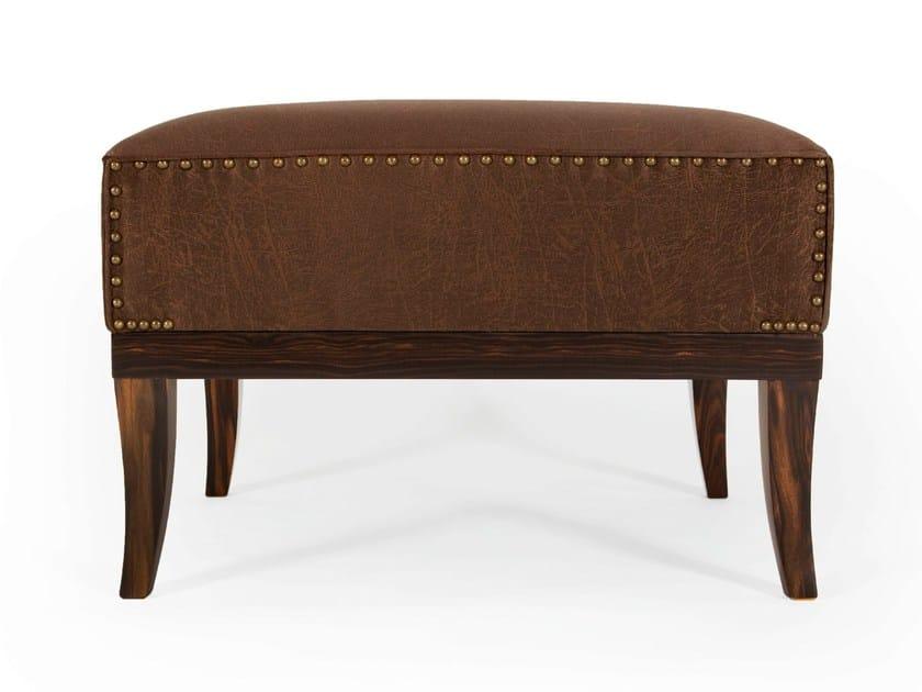 Leather footstool HERITAGE | Footstool by Munna