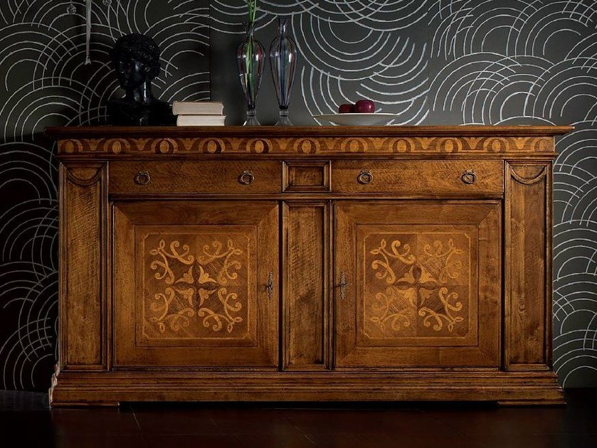 Sideboard with doors with drawers CA' VENIER | Sideboard with drawers by Cantiero