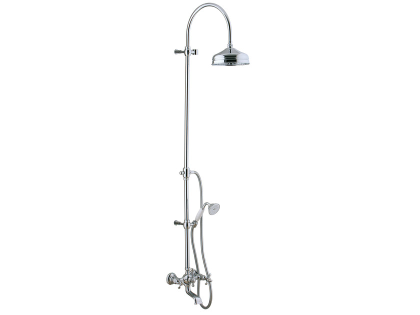 Shower panel with overhead shower NUOVA RETRÒ | Shower panel with overhead shower by Rubinetterie 3M
