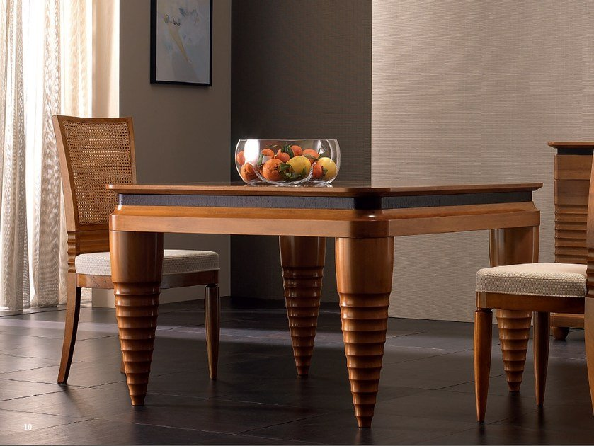 Solid wood table ELETTRA DAY | Solid wood table by Cantiero