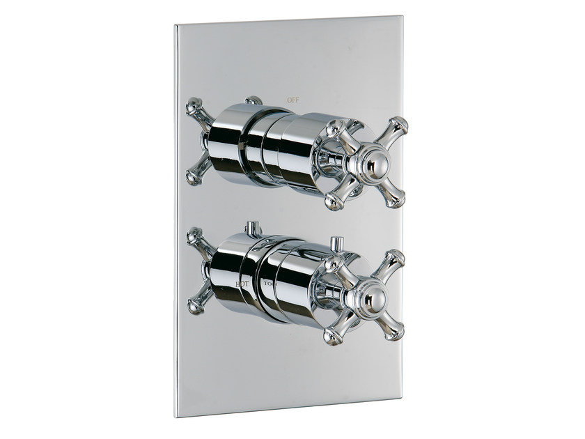 2 hole thermostatic shower mixer OLD ITALY | 2 hole thermostatic shower mixer by Rubinetterie 3M