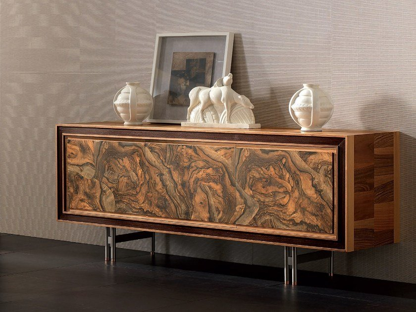 Solid wood sideboard with doors ELETTRA DAY | Sideboard by Cantiero