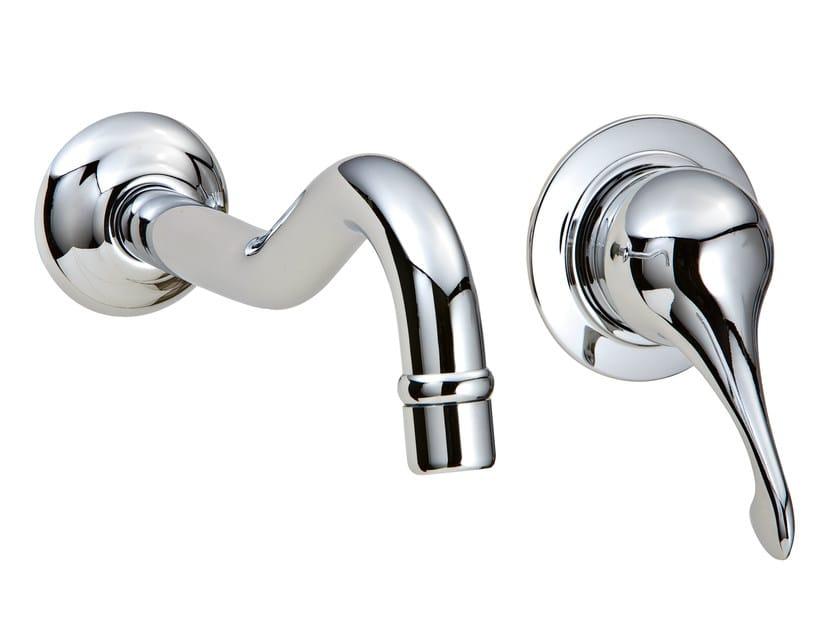 2 hole wall-mounted washbasin mixer PICCADILLY | Wall-mounted washbasin mixer by Rubinetterie 3M