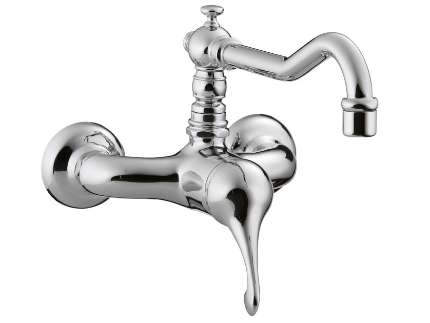 Wall-mounted kitchen mixer tap PICCADILLY   Wall-mounted kitchen mixer tap by Rubinetterie 3M