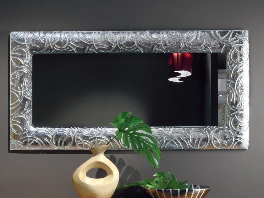 Elettra day espejo by cantiero for Espejo rectangular con marco