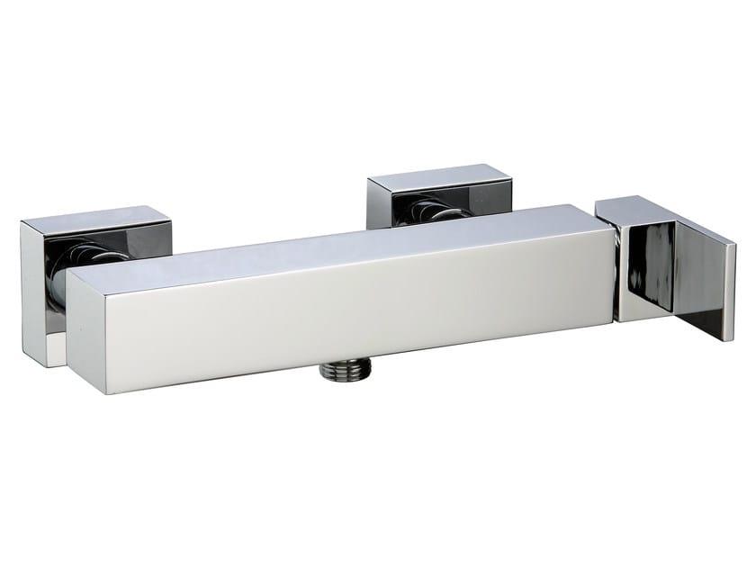 2 hole single handle shower mixer Q | Single handle shower mixer by Rubinetterie 3M