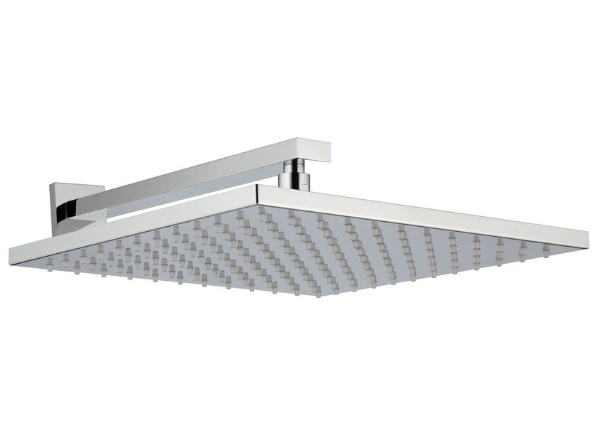Wall-mounted overhead shower with anti-lime system Q | Overhead shower by Rubinetterie 3M