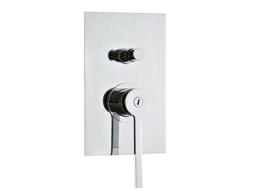 TIME | Shower mixer with plate By Rubinetterie 3M design Marco Pisati