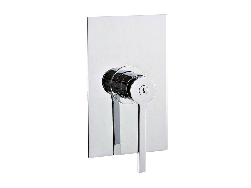 Single handle shower mixer with plate TIME | Single handle shower mixer by Rubinetterie 3M