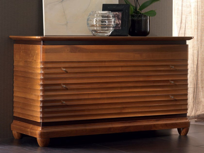 Solid wood chest of drawers ELETTRA NIGHT | Chest of drawers by Cantiero