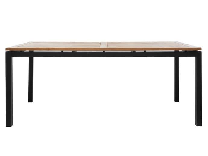 Rectangular garden table LUI | Rectangular garden table by Il Giardino di Legno