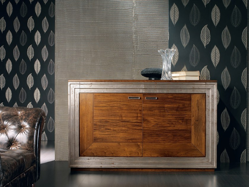 Solid wood sideboard with doors with drawers ÉTOILE DAY | Sideboard with doors by Cantiero