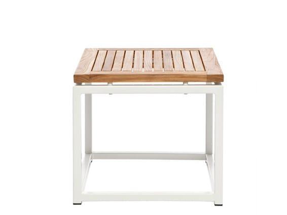 Low Square garden side table LEI | Square garden side table by Il Giardino di Legno