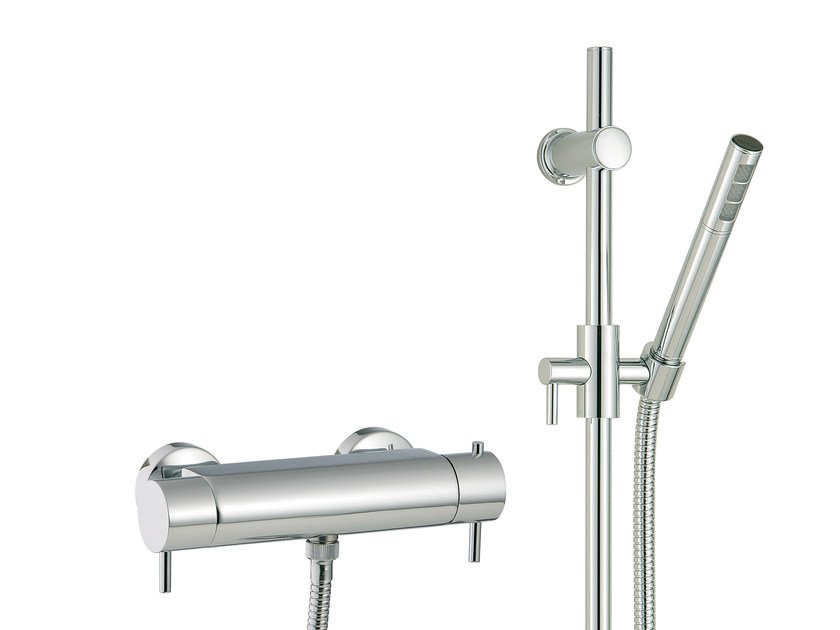 Thermostatic shower mixer with hand shower VELA | Thermostatic shower mixer with hand shower by Rubinetterie 3M