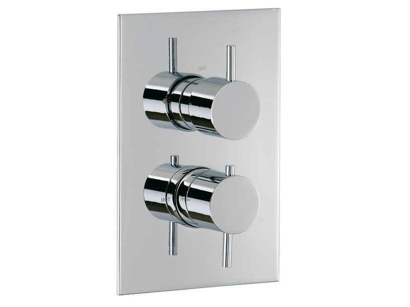 2 hole thermostatic shower mixer with diverter VELA | Thermostatic shower mixer with diverter by Rubinetterie 3M