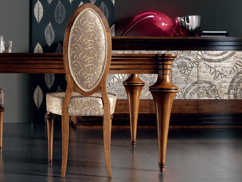 Medallion upholstered chair ÉTOILE DAY | Chair by Cantiero