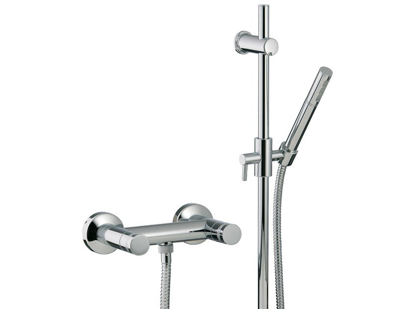 2 hole shower tap with hand shower X-CHANGE | Shower tap with hand shower by Rubinetterie 3M