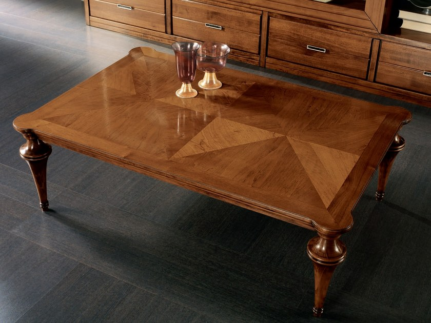 Rectangular wooden coffee table ÉTOILE DAY | Rectangular coffee table by Cantiero
