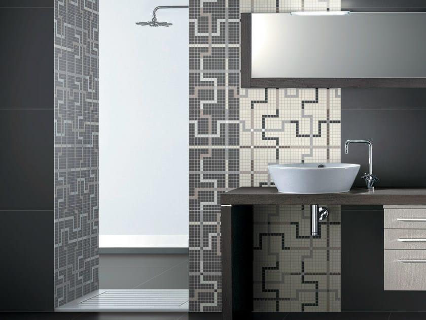 Porcelain stoneware Mosaic T.U. | Mosaic by Ceramiche Coem