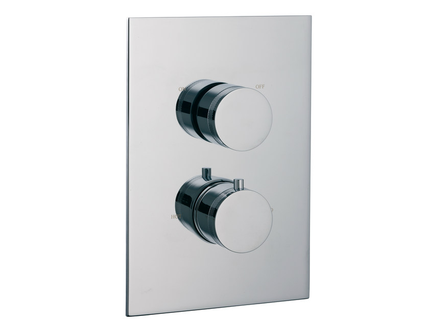 2 hole thermostatic shower mixer with diverter X-CHANGE | Thermostatic shower mixer with diverter by Rubinetterie 3M