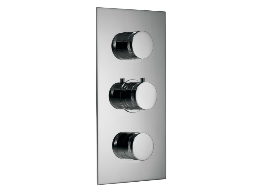 3 hole thermostatic shower mixer with diverter X-CHANGE | 3 hole thermostatic shower mixer by Rubinetterie 3M