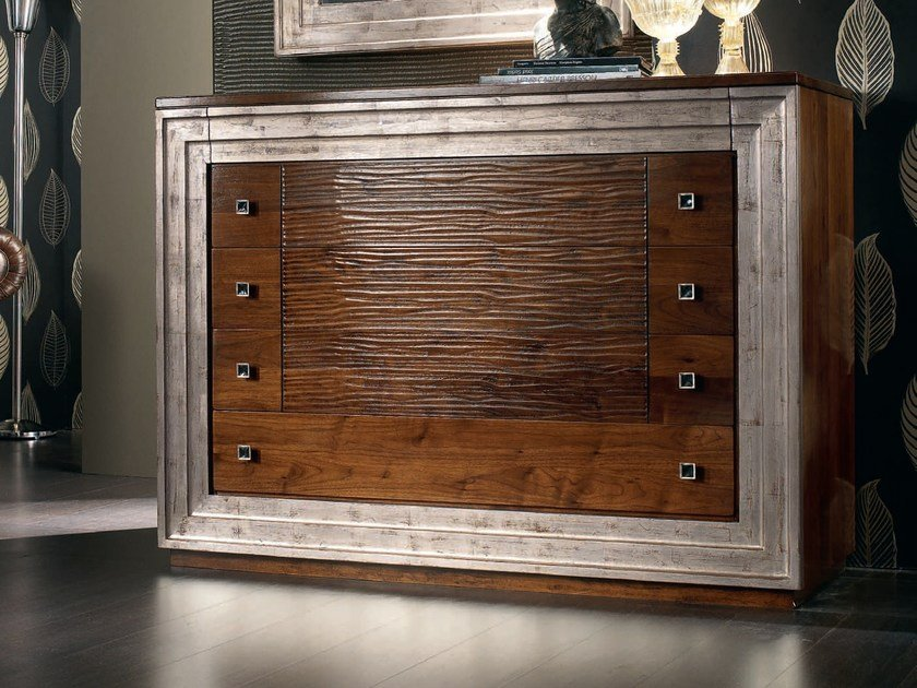 Solid wood chest of drawers ÉTOILE NIGHT | Chest of drawers by Cantiero