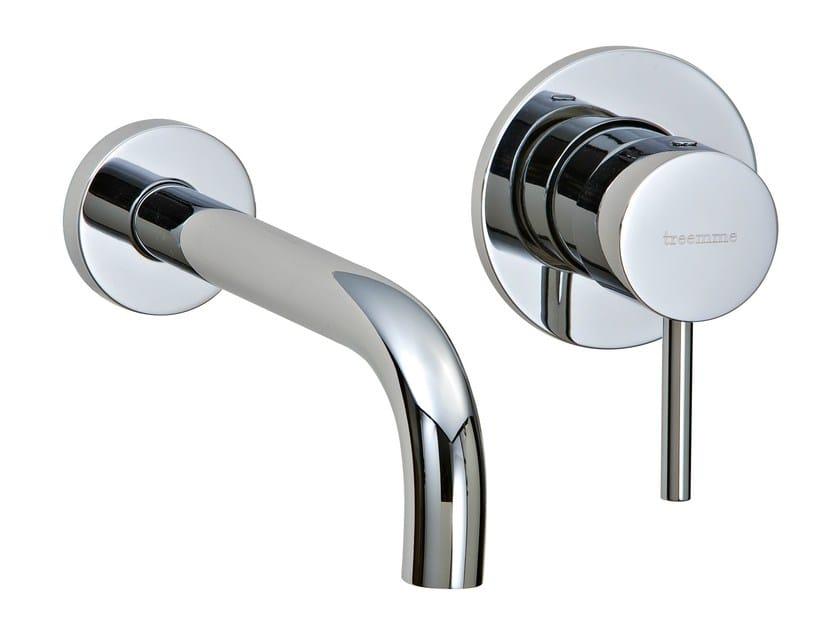 2 hole wall-mounted washbasin mixer X-CHANGE_MONO | 2 hole washbasin mixer by Rubinetterie 3M
