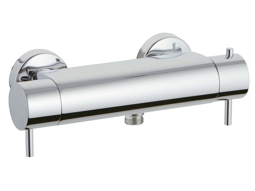 2 hole thermostatic shower mixer X-CHANGE_MONO | 2 hole thermostatic shower mixer by Rubinetterie 3M