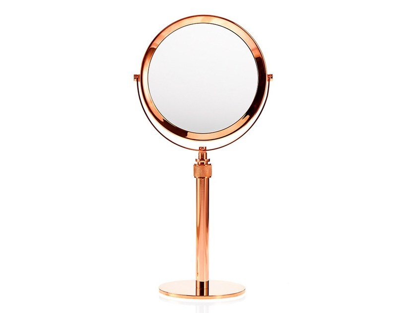 Round countertop shaving mirror SP 13 by DECOR WALTHER