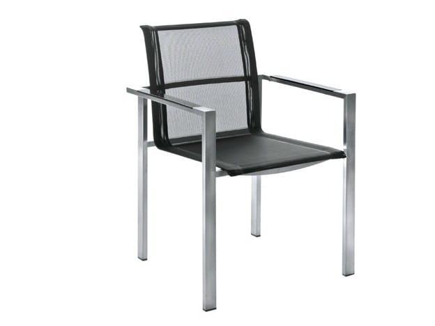 Garden chair with armrests ADAMAS | Garden chair by Il Giardino di Legno