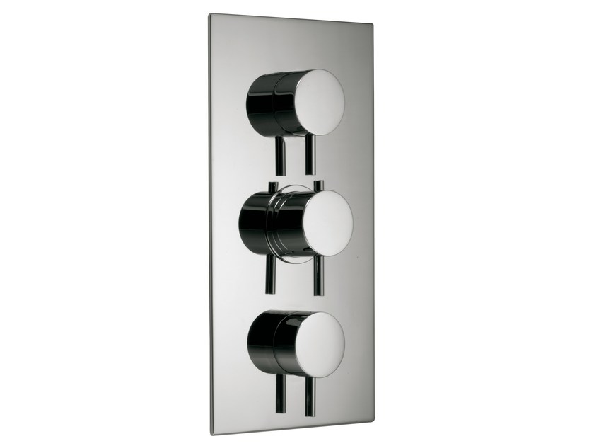 3 hole thermostatic shower mixer with diverter X-CHANGE_MONO | 3 hole thermostatic shower mixer by Rubinetterie 3M