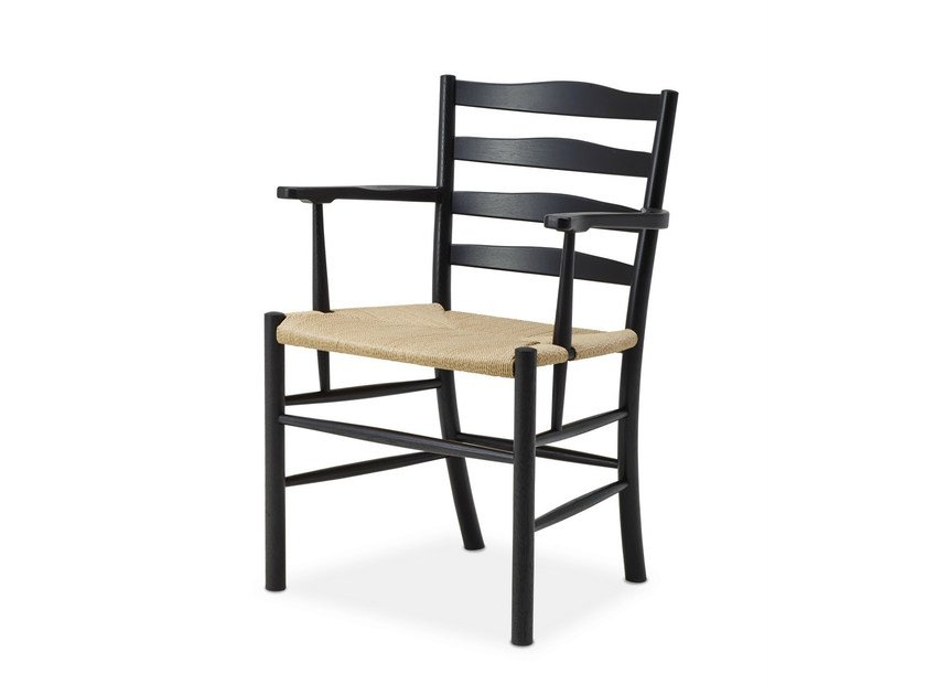 Oak chair with armrests CHURCH ARMCHAIR | Chair with armrests by dk3