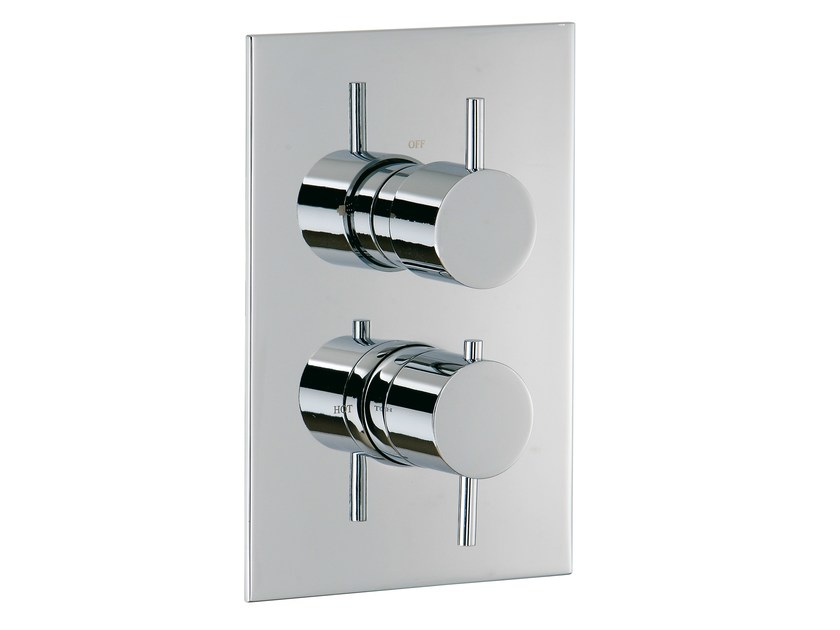 2 hole thermostatic shower mixer with diverter X-CHANGE_MONO | Thermostatic shower mixer with diverter by Rubinetterie 3M