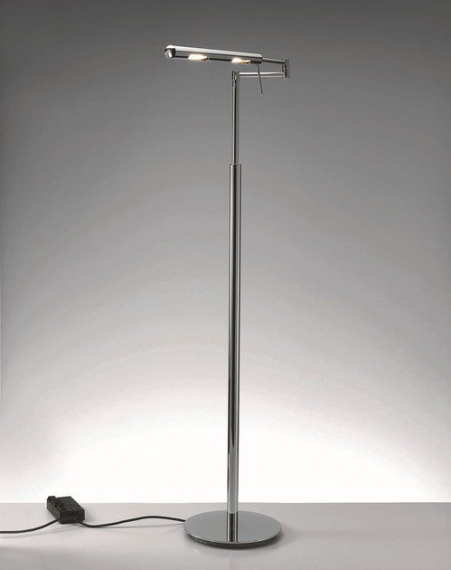 Height-adjustable floor lamp with dimmer DIM-L by DECOR WALTHER