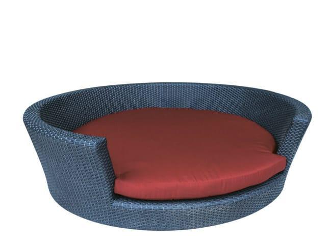 Synthetic fibre dogbasket LASSIE by Il Giardino di Legno