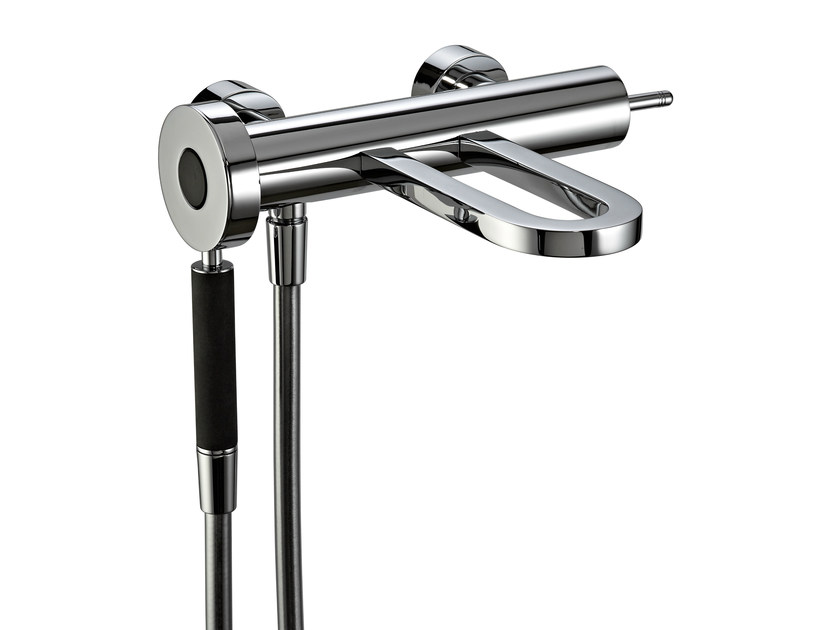 2 hole wall-mounted bathtub mixer PHILO | Wall-mounted bathtub mixer by Rubinetterie 3M