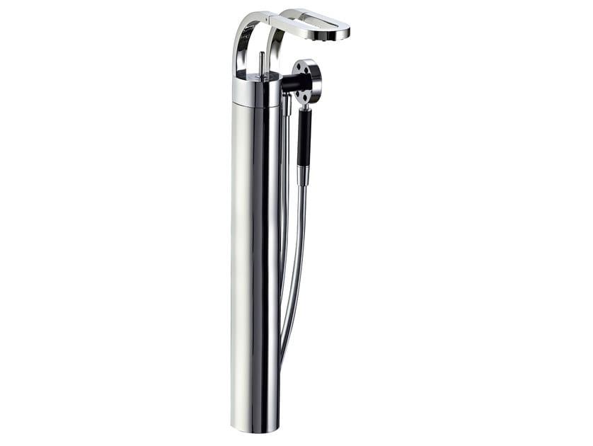 2 hole floor standing bathtub mixer PHILO | Floor standing bathtub mixer by Rubinetterie 3M