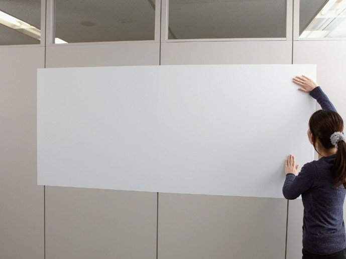 Magnetic polyester office whiteboard 3M WHITEBOARD PWF 500-MG by 3M Italia
